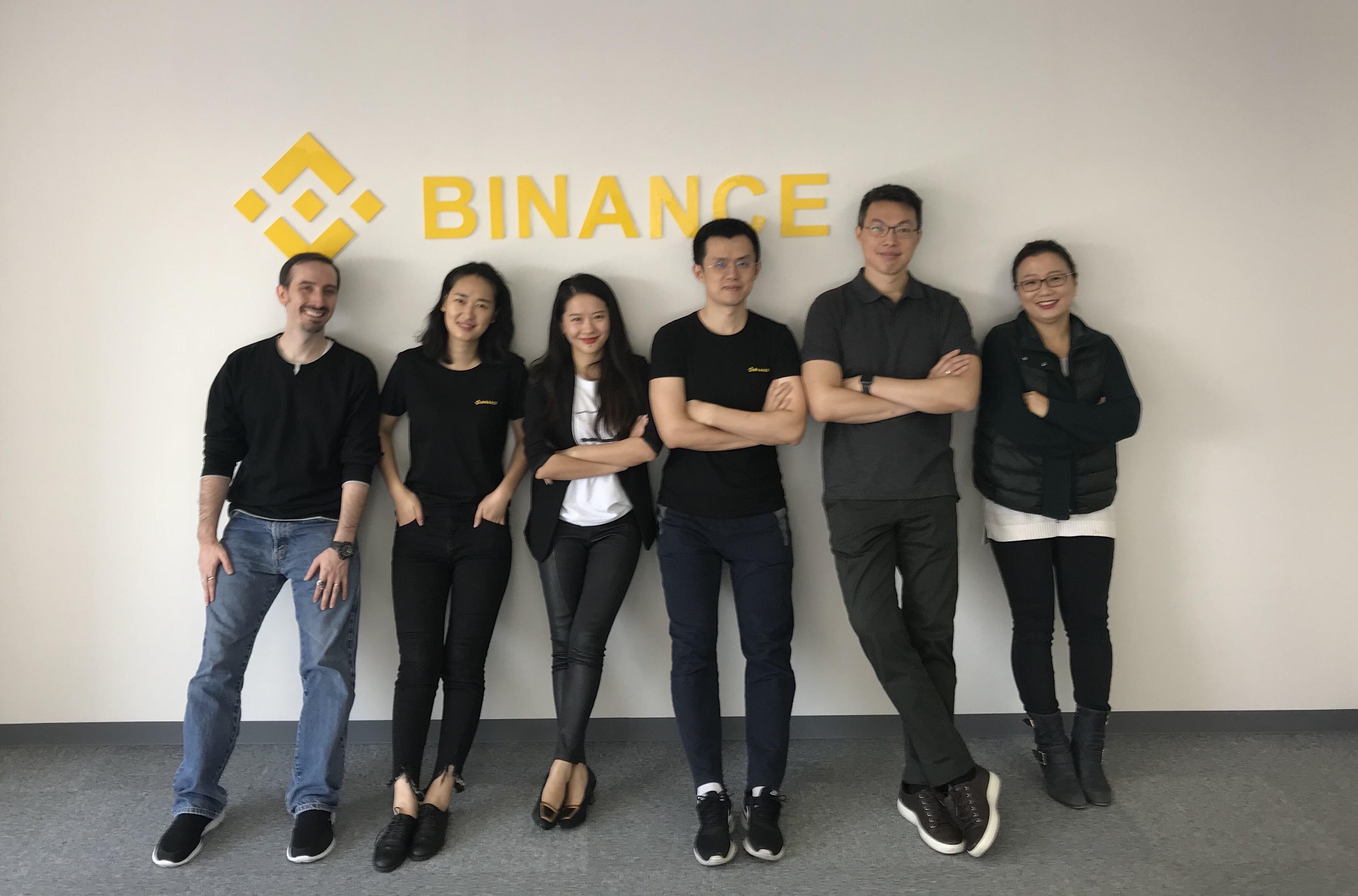 команда разработчиков бинанс